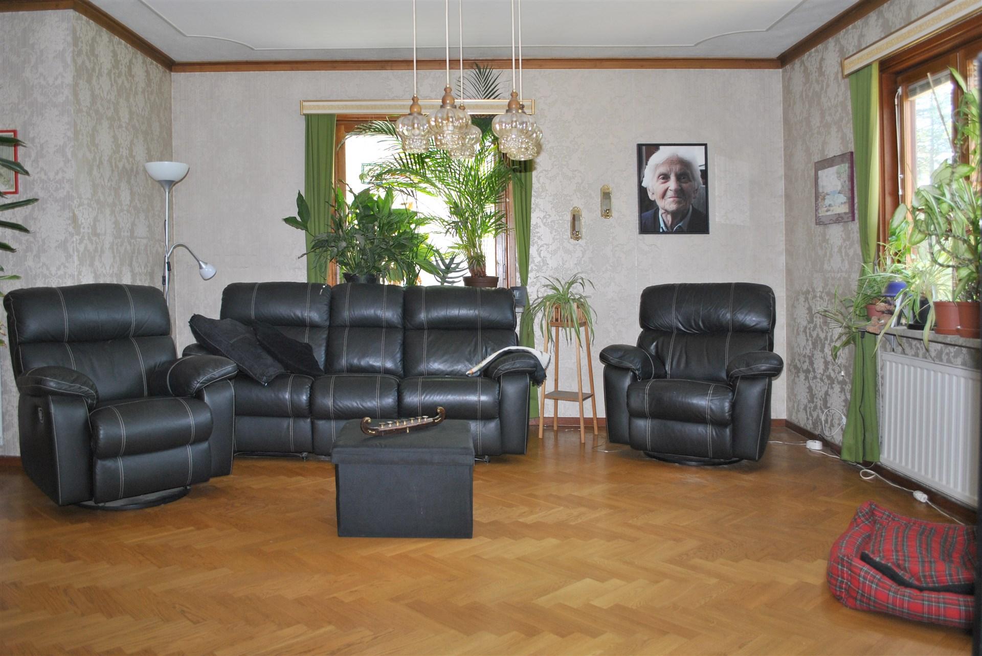 Rymligt vardagsrum
