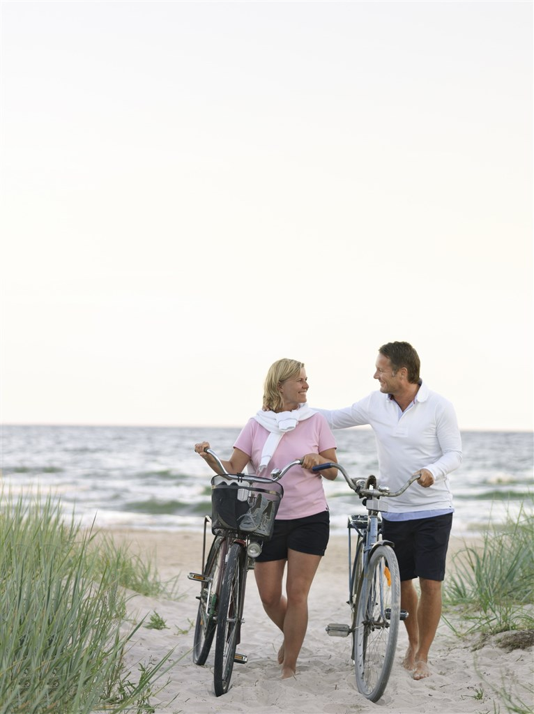 För att underlätta för dina strövtåg i trakten ingår tillgång till elcyklar från Monark, exklusivt för alla som bor på Åhus Brygga.