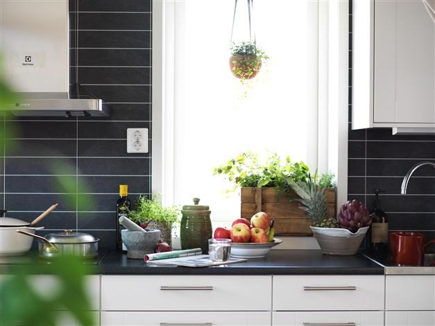 Arbetsbänk i köket