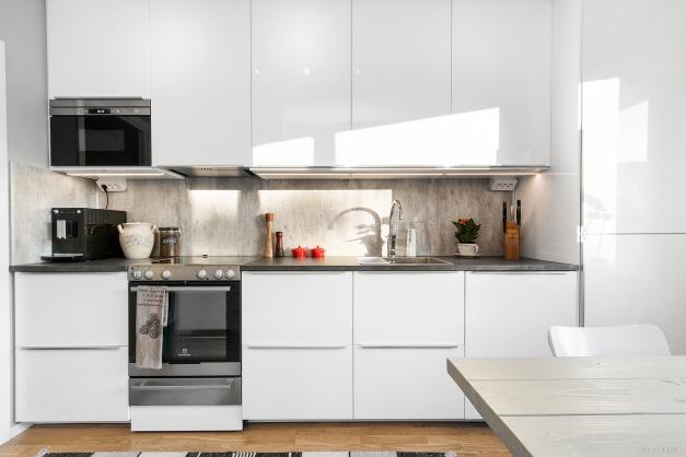 Köket är helrenoverat 2017
