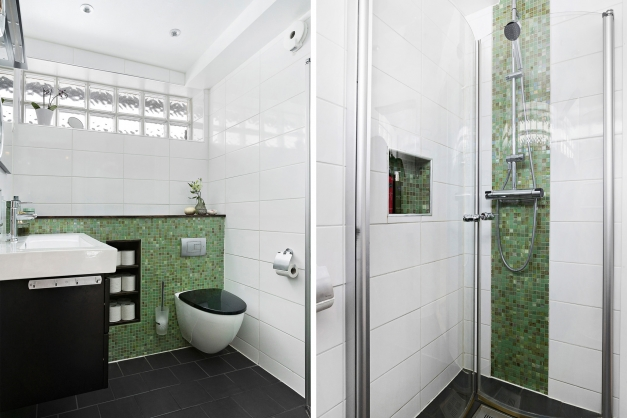Dusch/WC, entréplan
