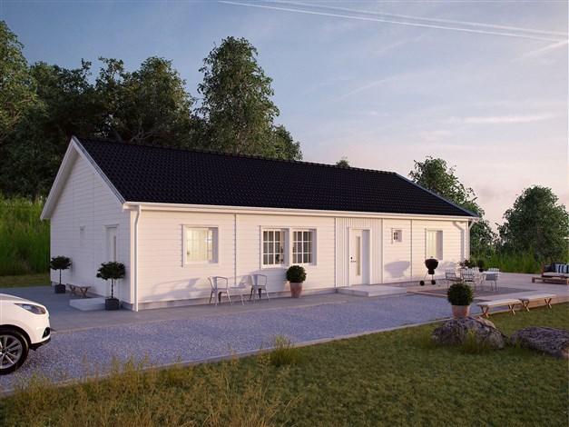Förslag på hustyp Myresjöhus