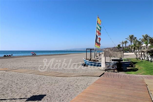 Även nära till stranden i El Morche