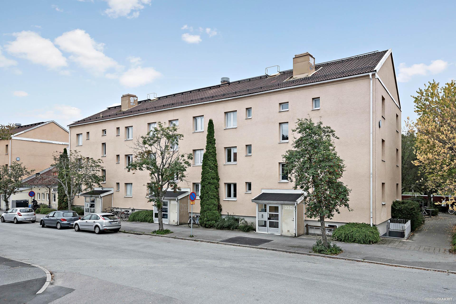 Bostadshuset från Ullavigatan