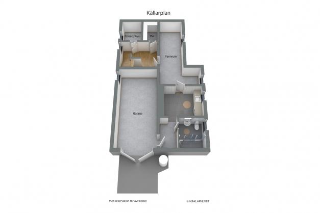 Planritning källare