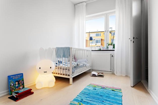 Sovrum, barnrum, gästrum