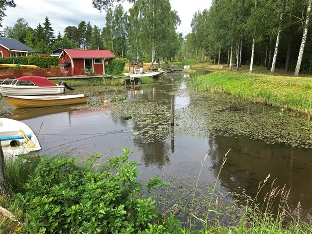 Omgivningsbild, båtplatser