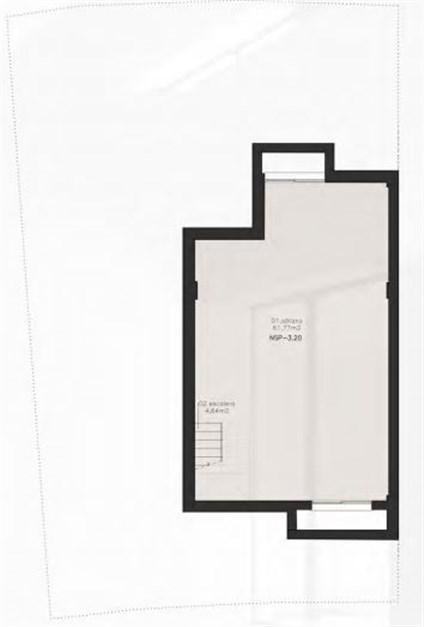 Exempel på planritning - Källarplan