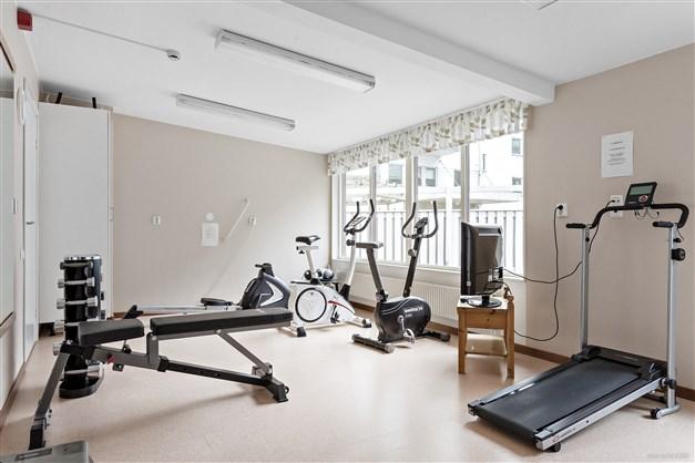 Gemensamt motionsrum
