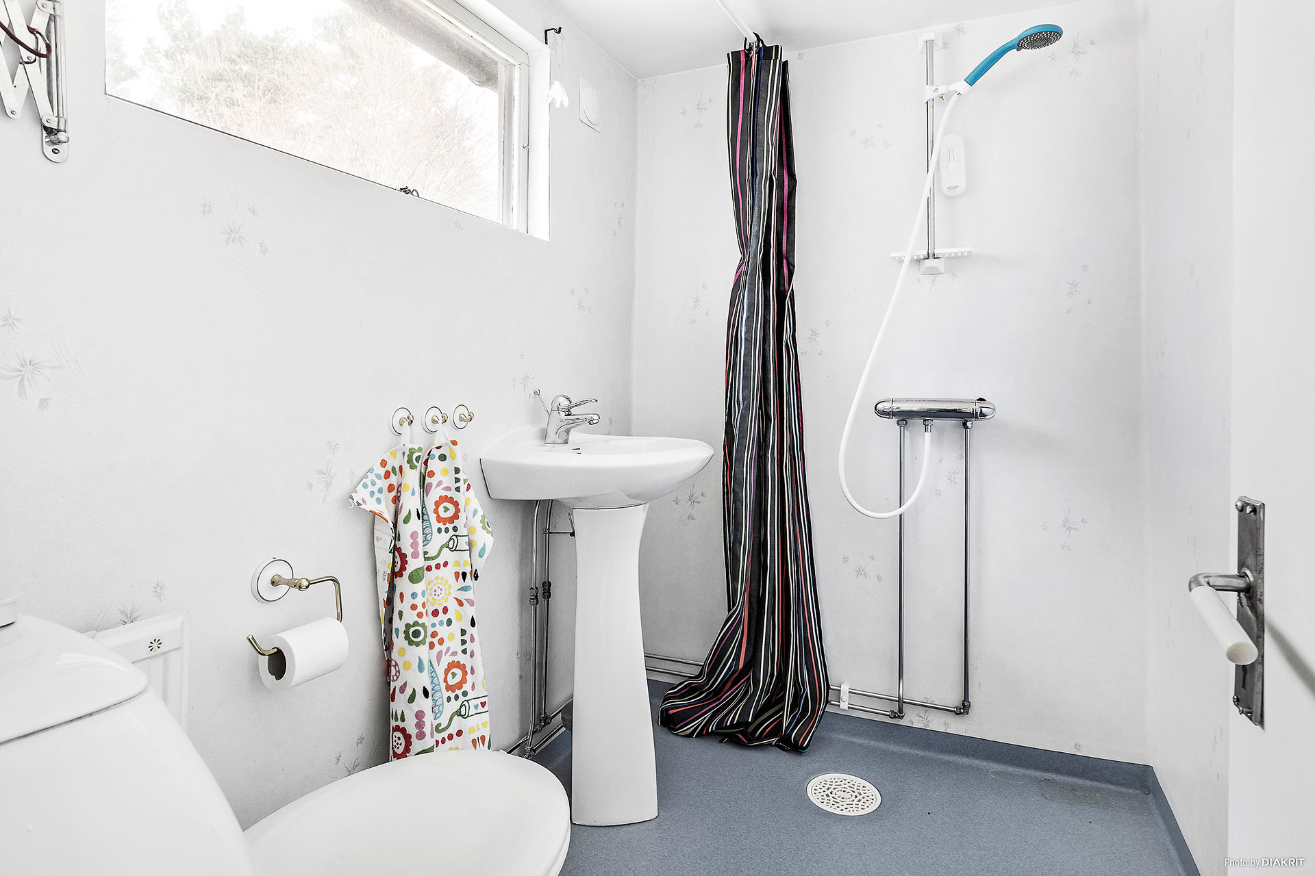 Dusch och WC övervåning