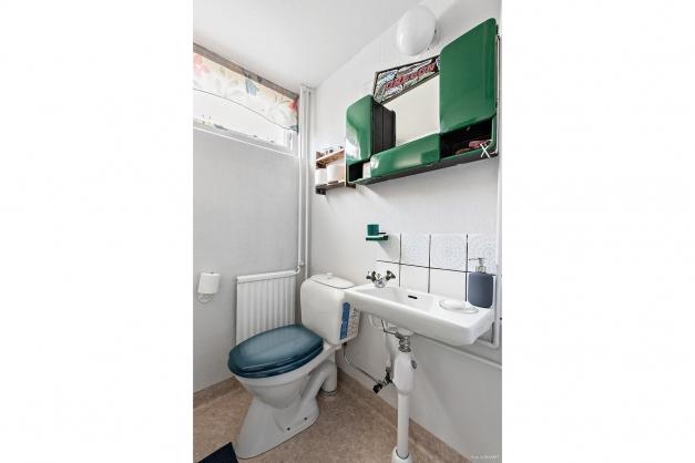 Toalett källare