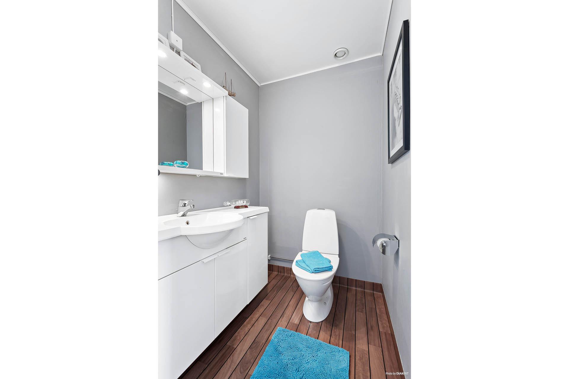 WC bottenplan