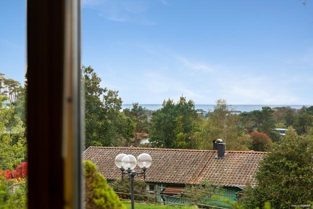 Utsikten från vardagsrummet.