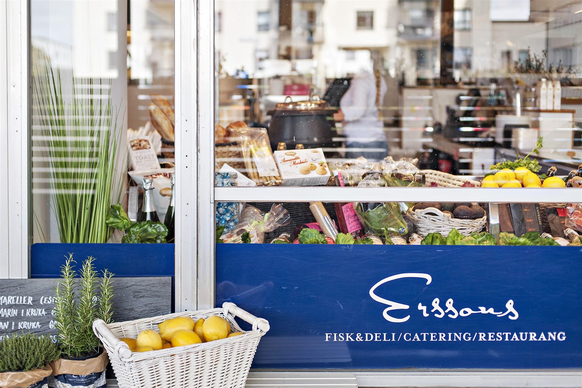 Erssons Fisk & Deli i Fruängens centrum - väl värt ett besök
