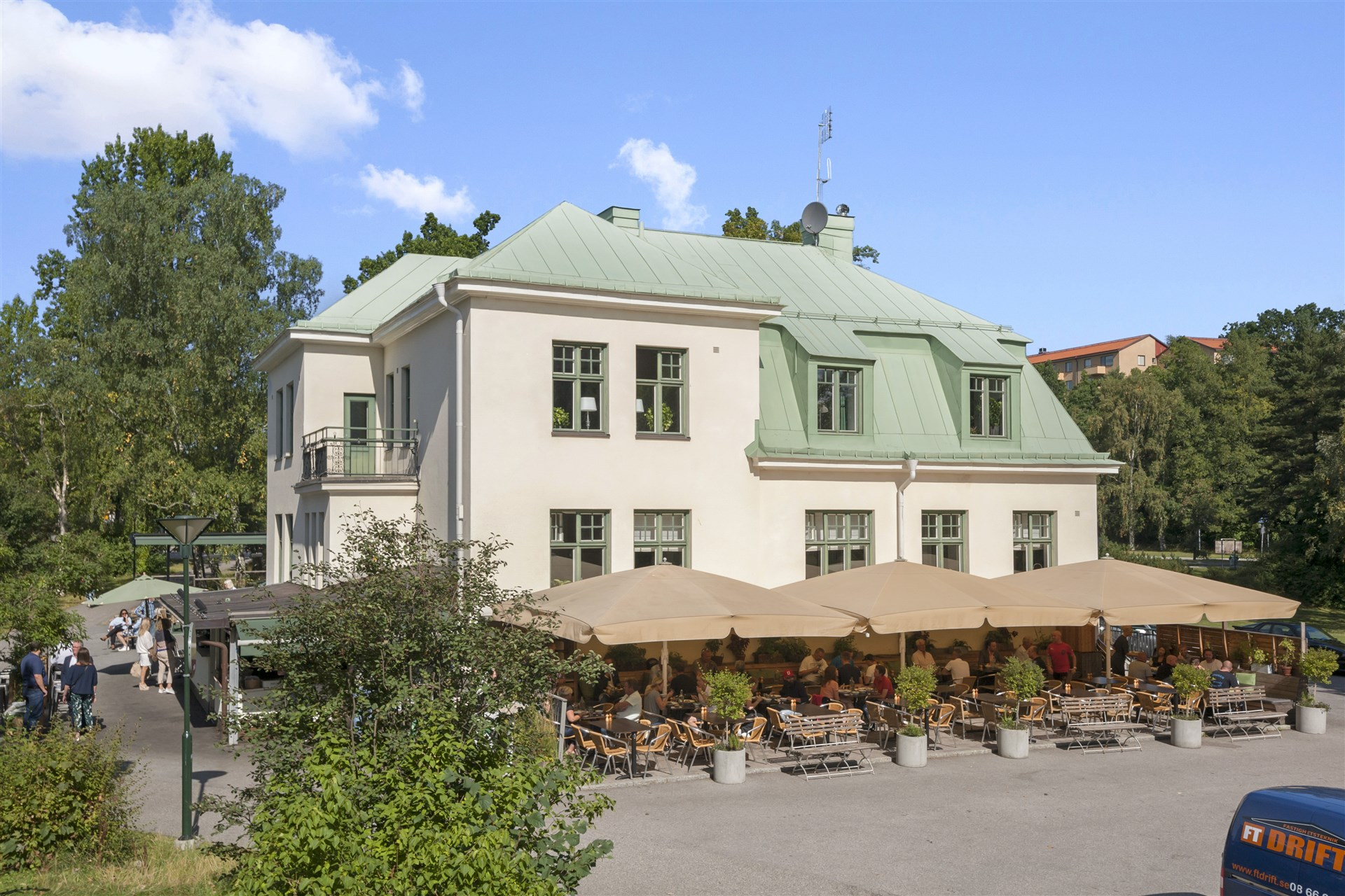 Populära Långbro värdshus lockar gäster från hela Stockholm