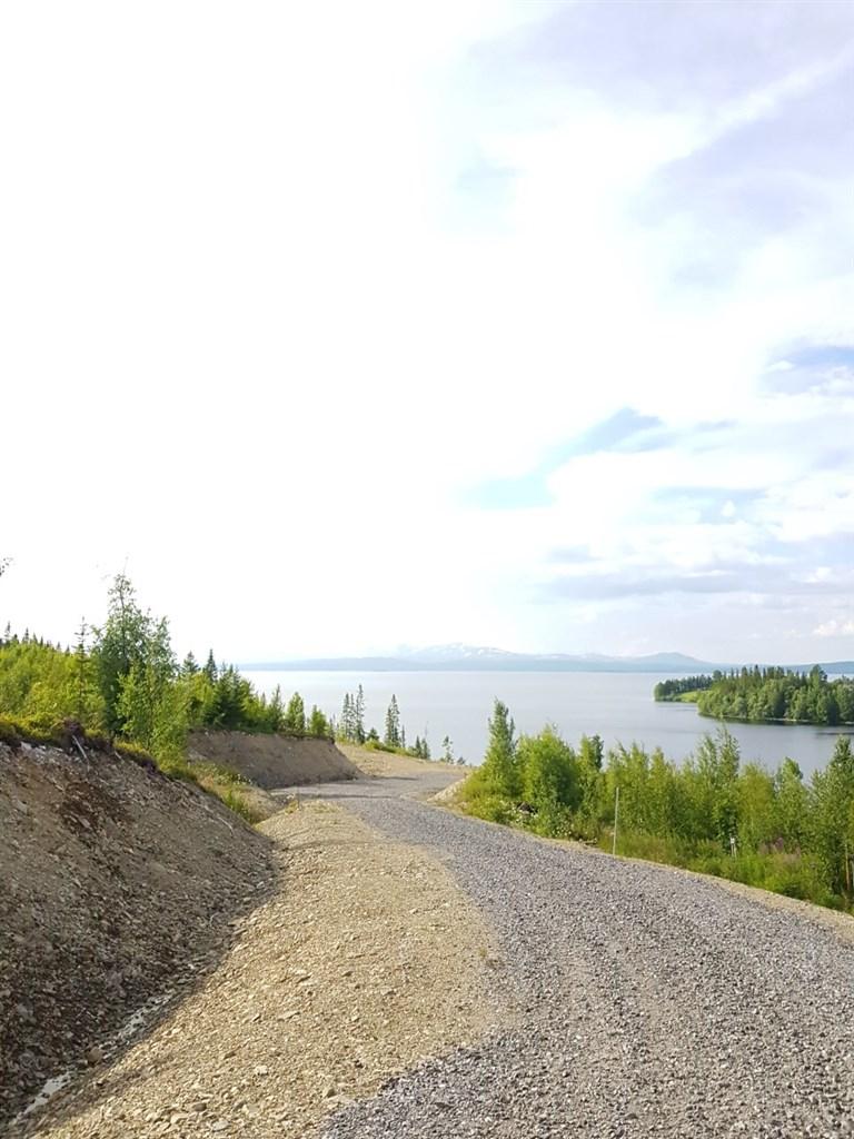 Utsikt sommar över Kallsjön