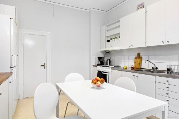 Kök med köksingång