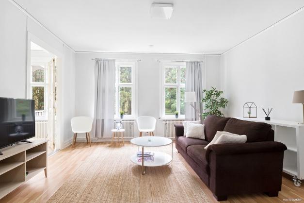 Stora och ljusa rum