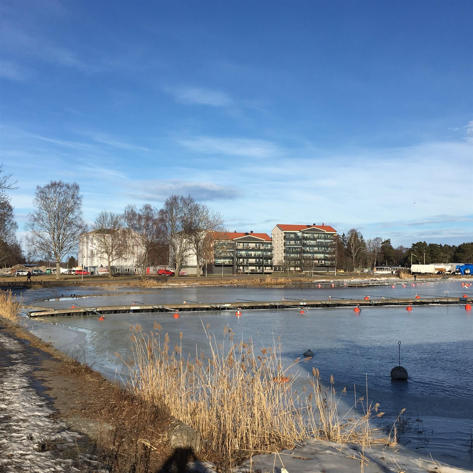 Första och andra etappen, kvarteret Klackskär