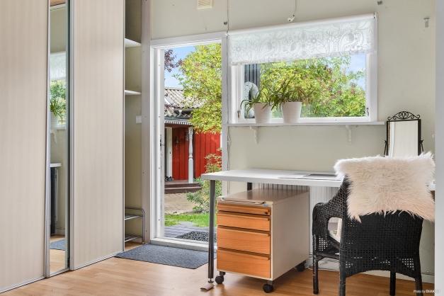 Välkomna in! Perfekt kontor om du jobbar hemifrån.