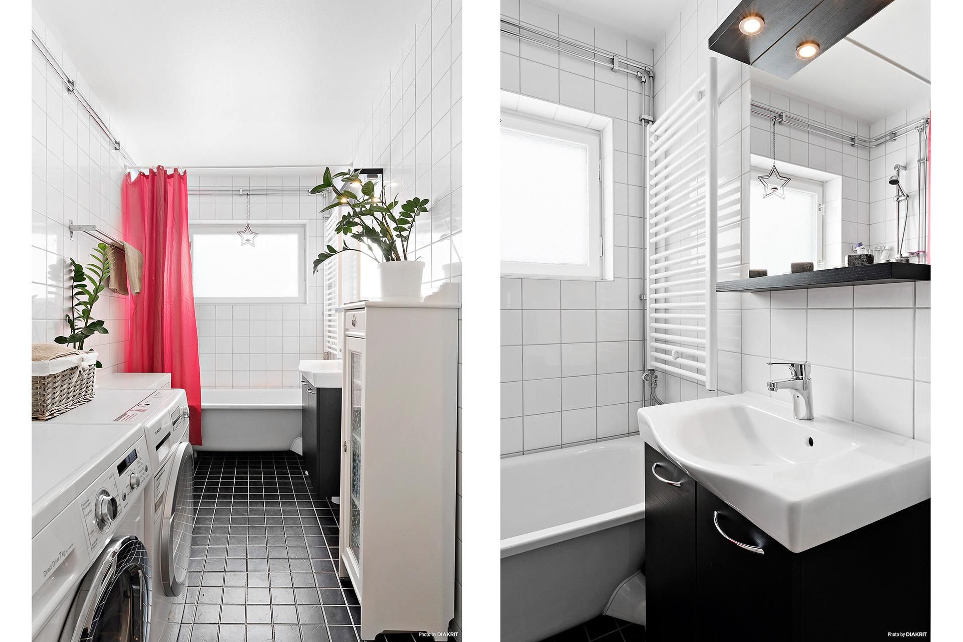 Badrum renoverat 2013 i bostadsrättsföreningens regi