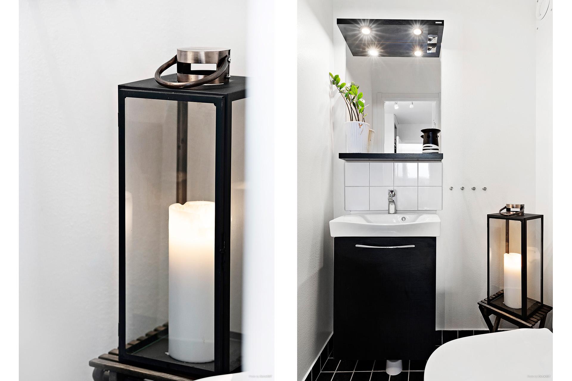 Toalettrum renoverat 2013 i bostadsrättsföreningens regi