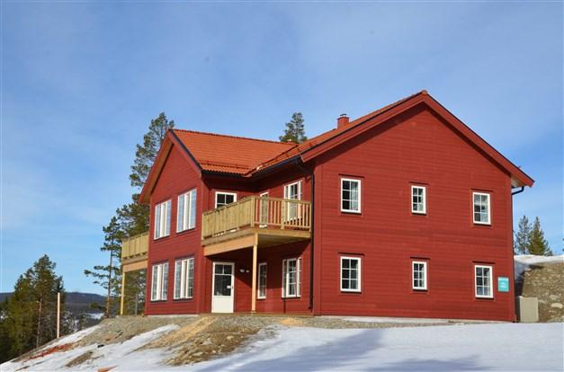 Foto från tidigare etapp. Huset blir som det här.