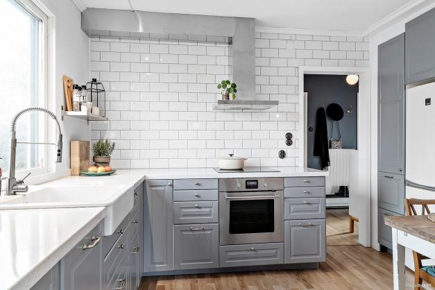 Modernt och stilfullt kök med charm
