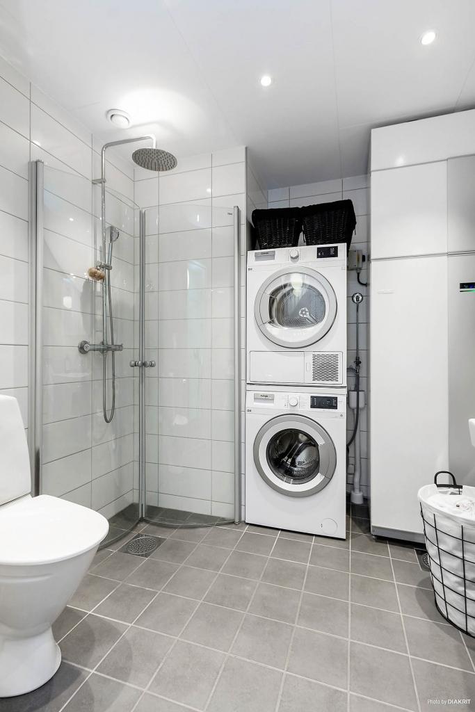 Badrum / tvättstuga