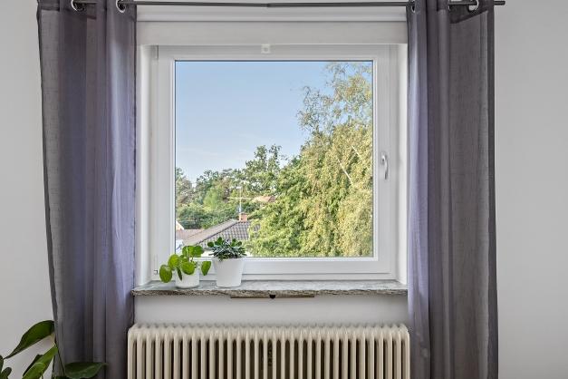 Fönstret i vardagsrummet