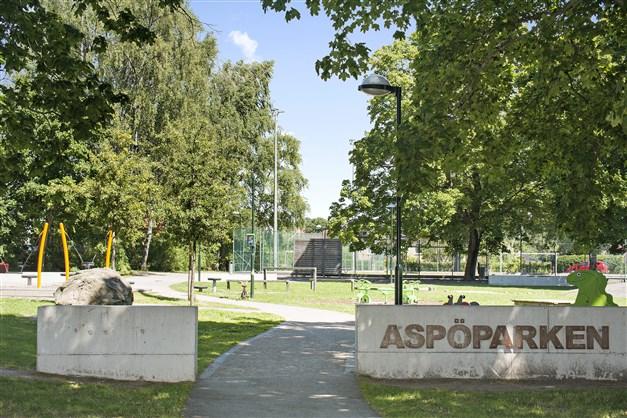 Populära Aspöparken i närområdet