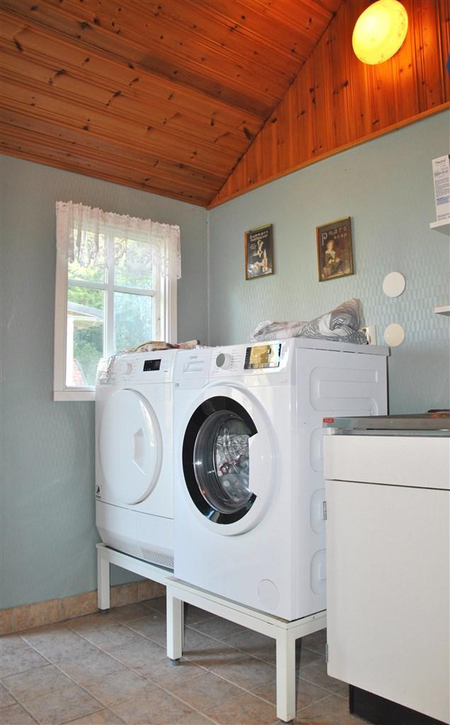 Hus 2: Tvättstuga