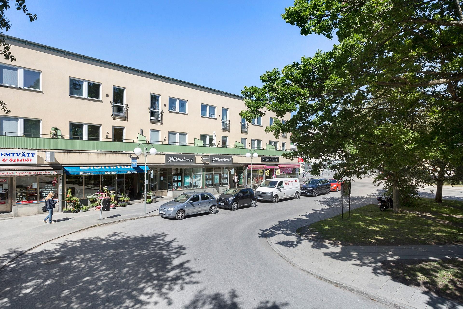 Hammarbyhöjden Centrum.