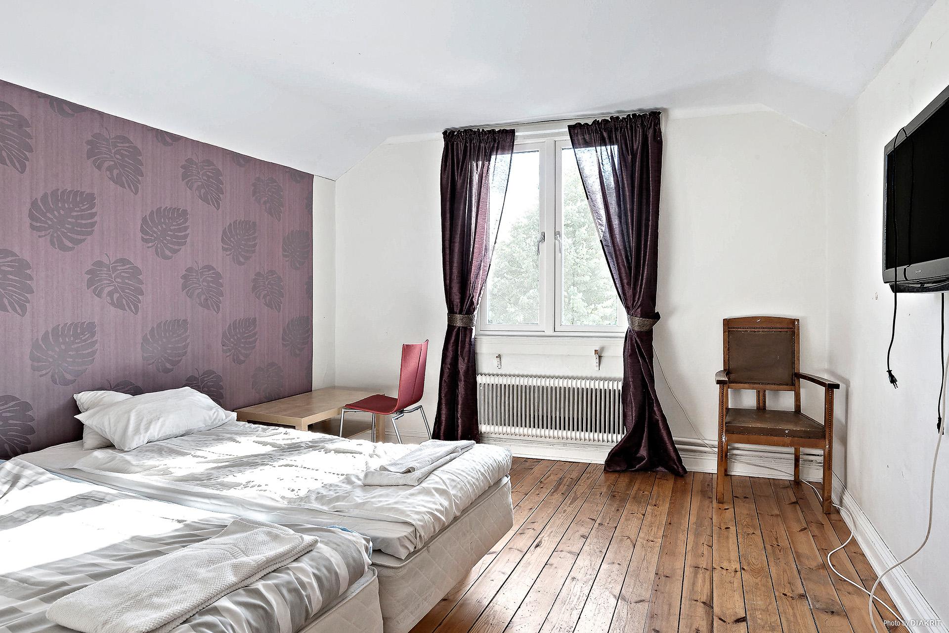 Det andra sovrummet på plan 2