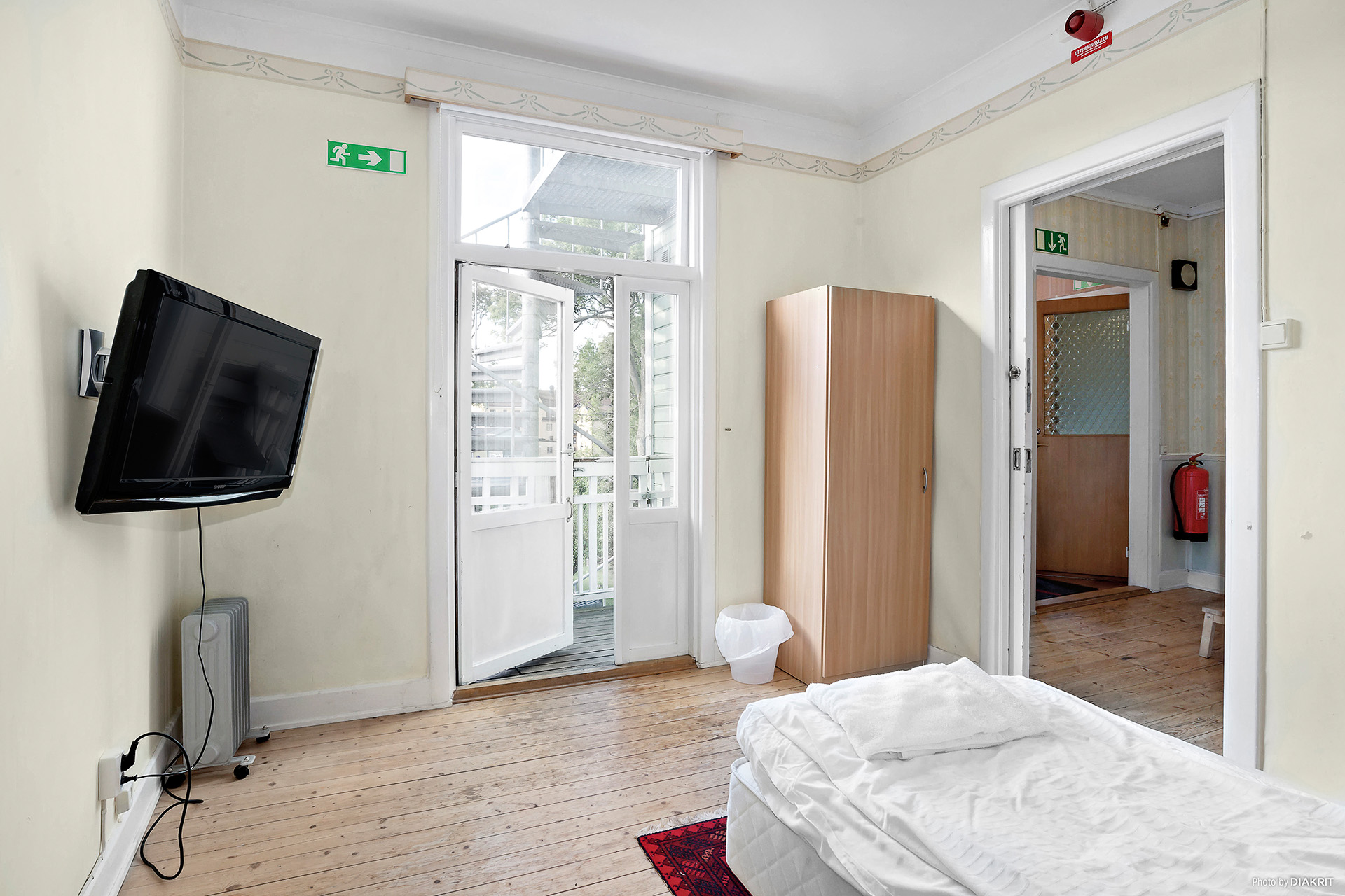 Det andra sovrummet på plan 1