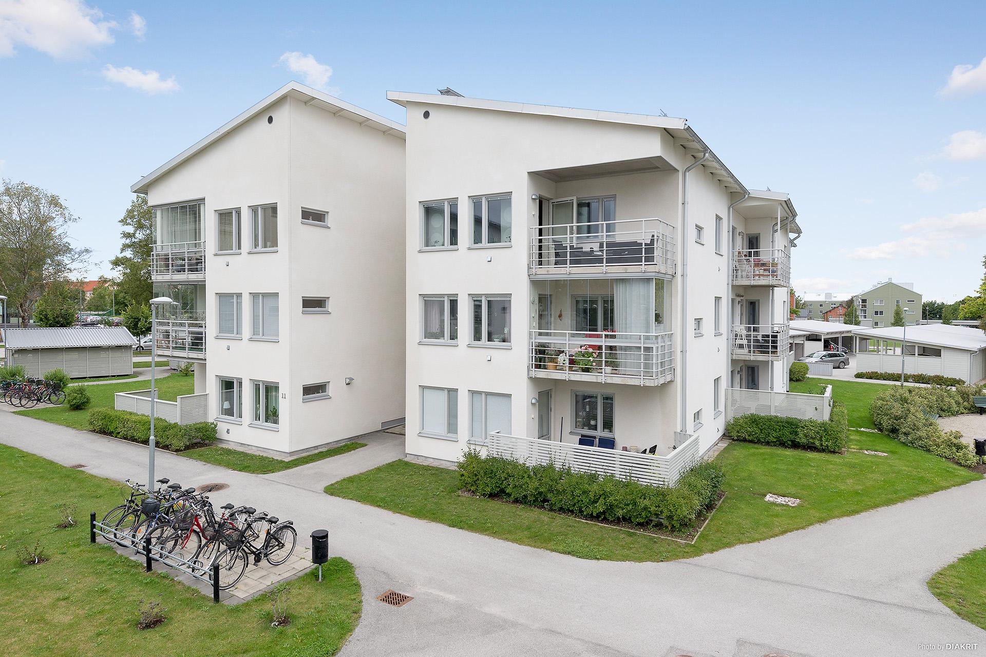 2:a med balkong högst upp till höger