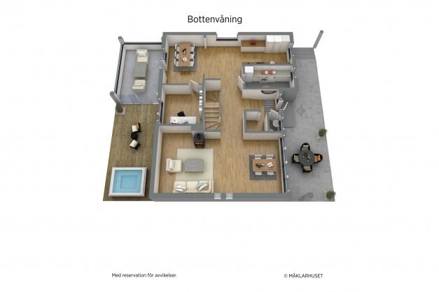 Planritning BV 3D