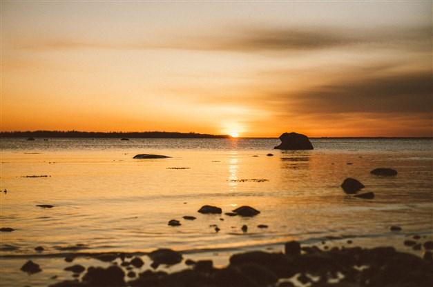 Underbara solnedgångar