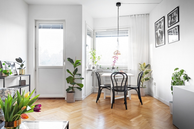 Härlig lägenhet med mycket ljusinsläpp