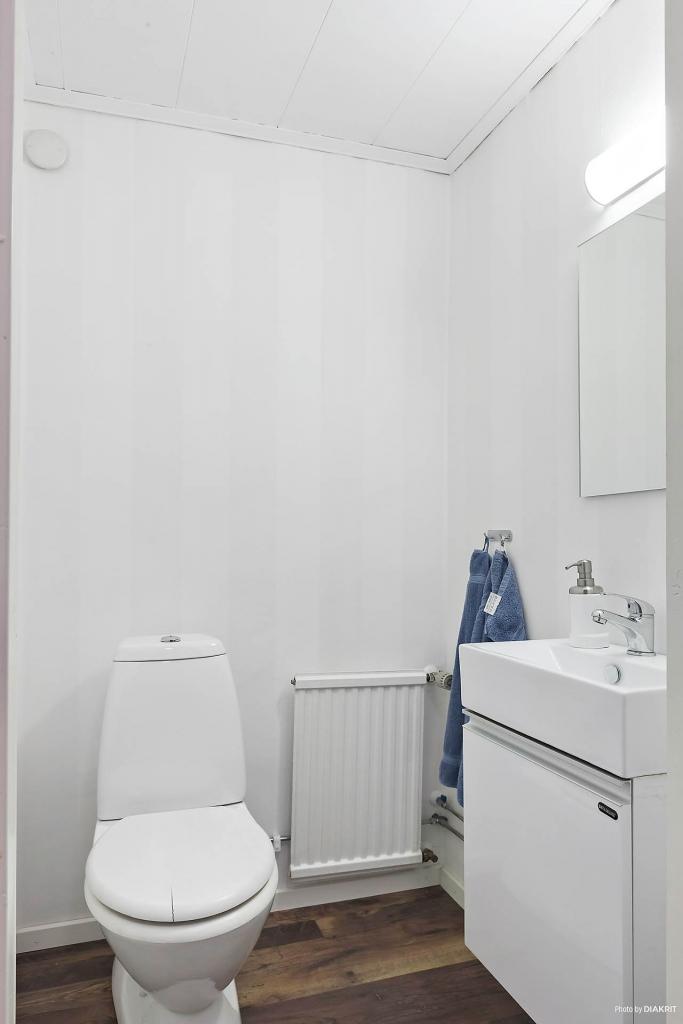 Toalett källare.