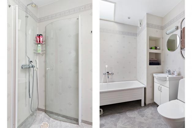 Dusch- och badrum