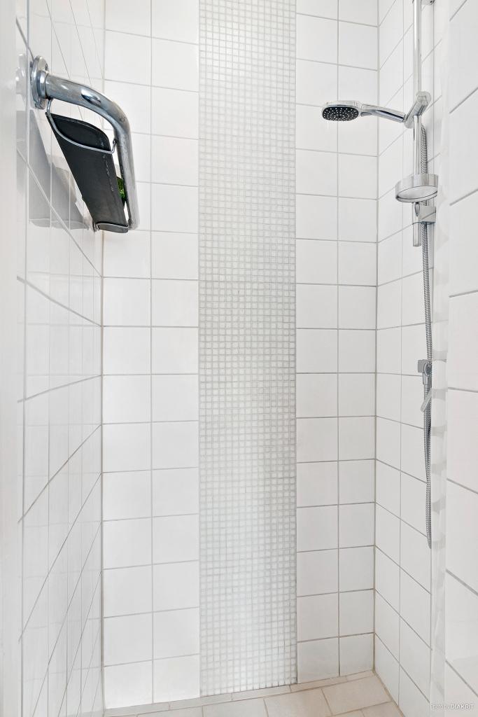 Separat helkaklad dusch