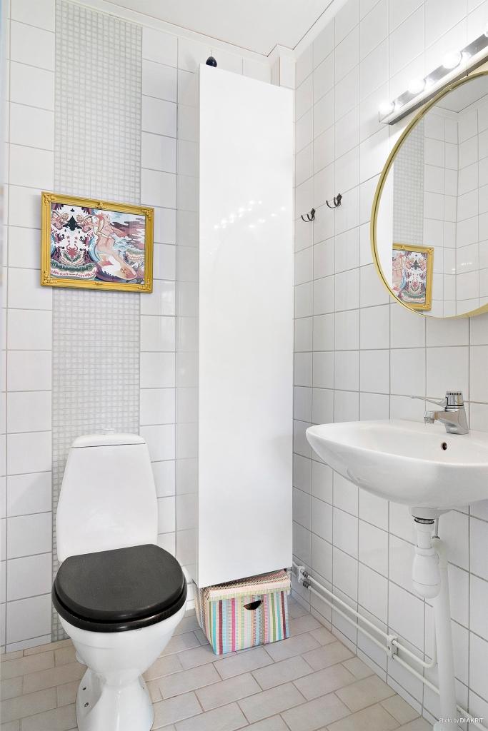 Helkaklat toalettutrymme