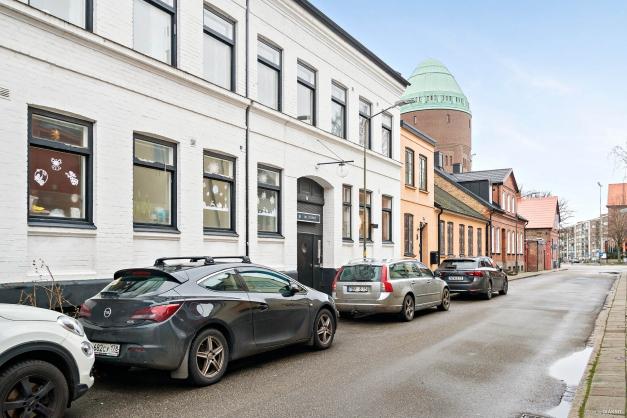 Klara gatan och Brf Hvita huset