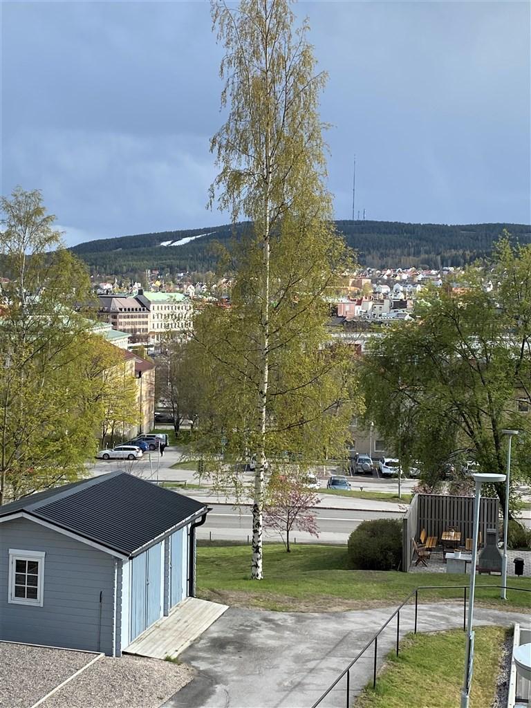 Utsikt i söder mot city