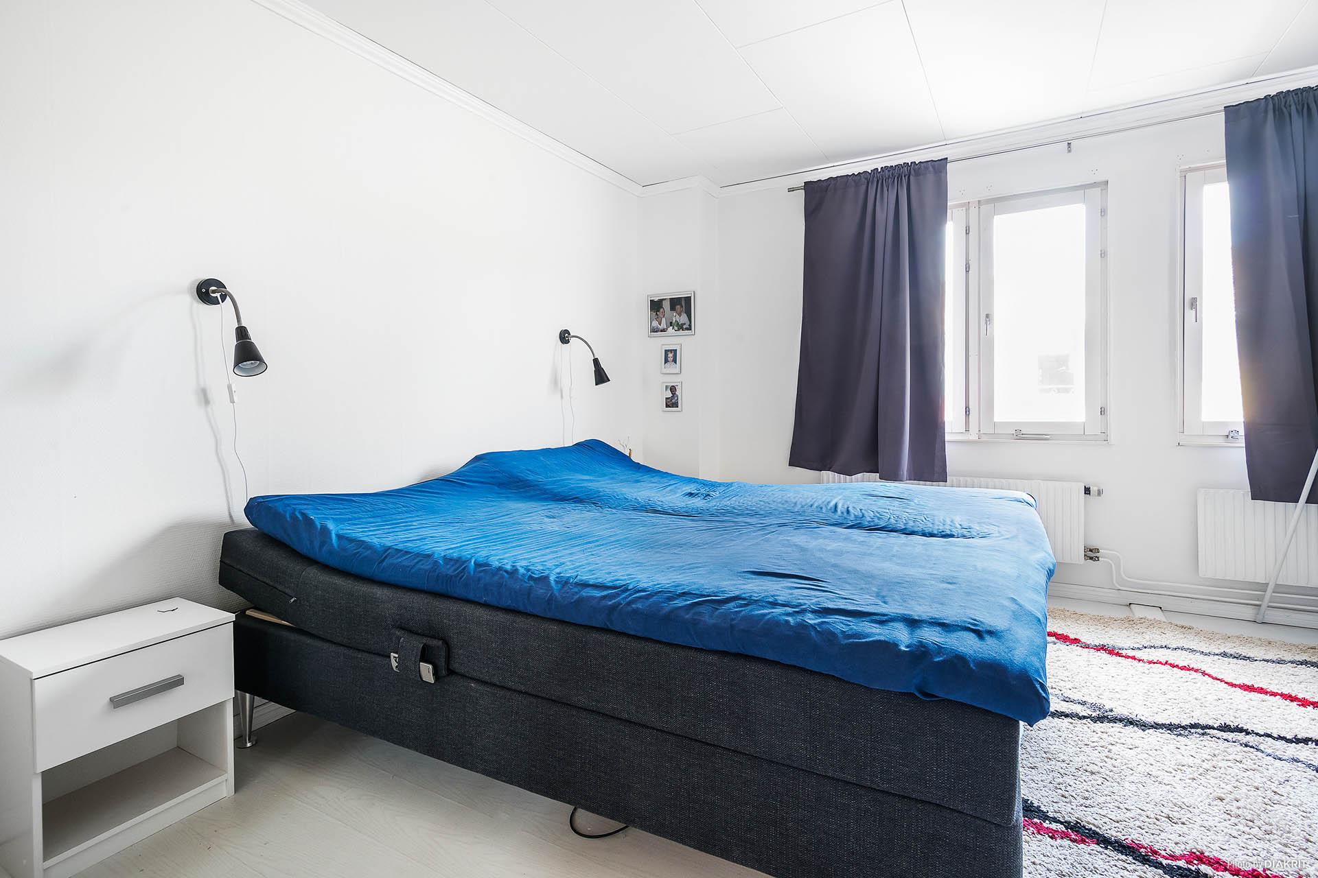 Stort sovrum plan två