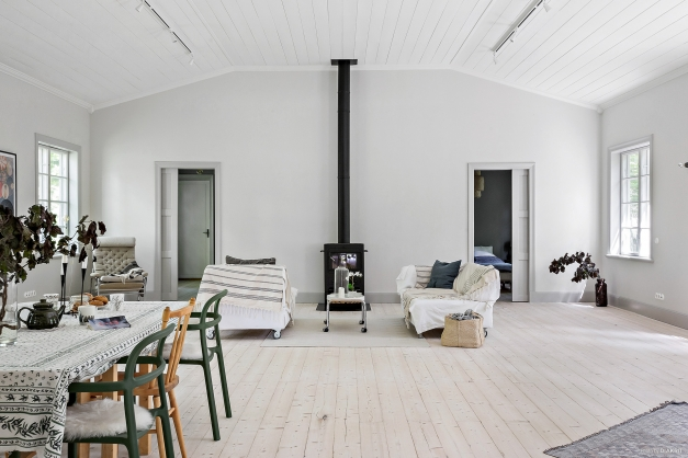 Salong för umgänge och vila