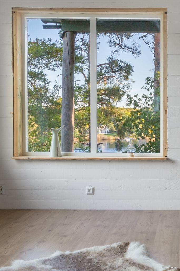 Utsikt från vardagsrum