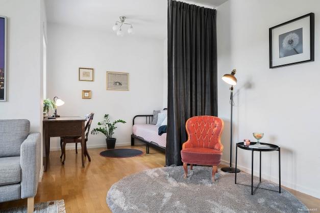 Utrymme för kontor eller extra rum