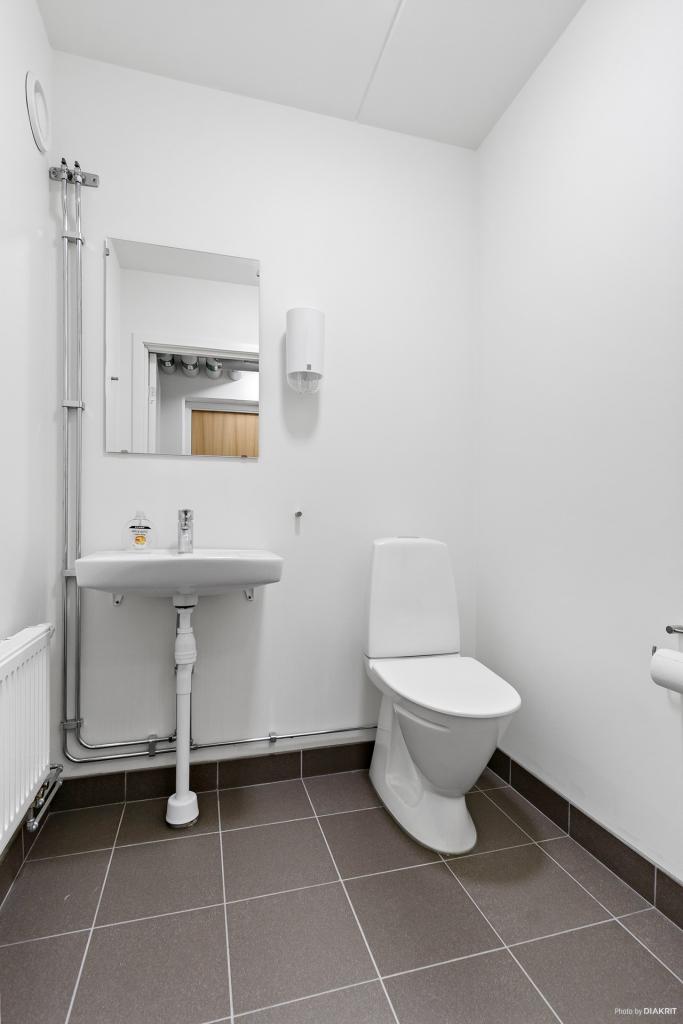 WC i gästlägenheten
